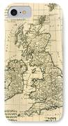 The British Isles IPhone Case by Guillaume Raynal
