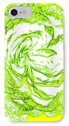 The Cabbage Rose IPhone Case