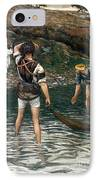 The Calling Of Saint Peter And Saint Andrew IPhone Case by Tissot