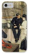 The Captain And The Mate IPhone Case