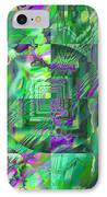 The Crazy Fractal IPhone Case