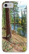 The Creek IPhone Case by Nancy Harrison
