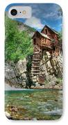The Crystal Mill In Crystal Colorado IPhone Case