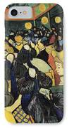 The Dance Hall At Arles IPhone Case by Vincent Van Gogh