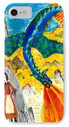 The Dragon IPhone Case by Sushila Burgess