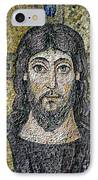 The Face Of Christ IPhone Case by Byzantine School