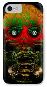 The Face Of Man IPhone Case by David Lee Thompson