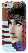 The Flow Of Memory IPhone Case by Eric Edelman