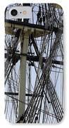 The Friendship Of Salem Tall Ship  In Salem Massachusetts Usa IPhone Case