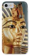 The Funerary Mask Of Tutankhamun IPhone Case by Unknown