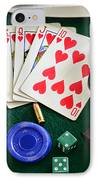 The Gambler IPhone Case by Paul Ward
