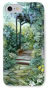 The Garden Triptych Right Side IPhone Case