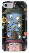 The Gardener IPhone Case by Leah Saulnier The Painting Maniac