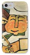 The Happy Chef IPhone Case