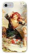 The Haymakers IPhone Case by Frederick Morgan