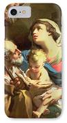 The Holy Family IPhone Case by Gaetano Gandolfi