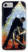 The Intoxication Of Tango IPhone Case by Richard Young
