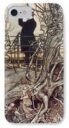 The Kensington Gardens Are In London Where The King Lives IPhone Case by Arthur Rackham