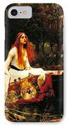 The Lady Of The Shalot IPhone Case by Pg Reproductions