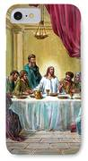 The Last Supper IPhone Case by John Lautermilch
