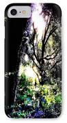 The Light At The End Of The Triangle IPhone Case by Eikoni Images