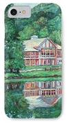 The Lodge At Peaks Of Otter IPhone Case by Kendall Kessler