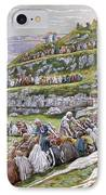 The Miracle Of The Loaves And Fishes IPhone Case by Tissot