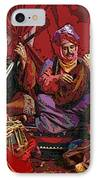 The Musicians Of Hajji Baba IPhone Case by Eikoni Images