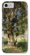 The Old Ash Tree IPhone Case by Edward Arthur Walton
