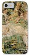 The Pool IPhone Case by Edward Atkinson Hornel
