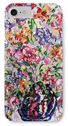 The Rainbow Flowers IPhone Case