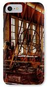 The Red Barn Of The Boeing Company Iv IPhone Case by David Patterson