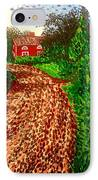 The Red House In Finland IPhone Case