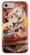 The Rose Madonna IPhone Case by John Keaton