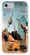 The Serpent Charmer IPhone Case by Jean Leon Gerome