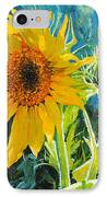 There's A New Bud In Town IPhone Case by Chris Steinken