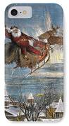 Thomas Nast: Santa Claus IPhone Case by Granger