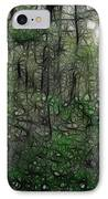 Thoreau Woods Fractal IPhone Case by Lawrence Christopher