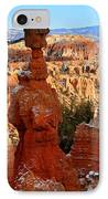 Thor's Hammer In Bryce Canyon IPhone Case