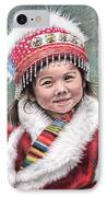 Tibetan Girl IPhone Case
