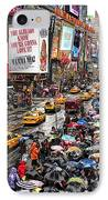 Times Square 1 IPhone Case