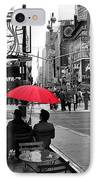 Times Square 5 IPhone Case by Andrew Fare