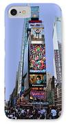 Times Square Nyc IPhone Case by Kelley King