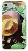 Tobacco Picker IPhone Case by Jose Manuel Abraham