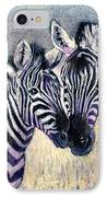Together IPhone Case by Arline Wagner