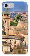 Toledo Town View IPhone Case by Joan Carroll