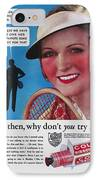 Toothpaste Ad, 1932 IPhone Case by Granger