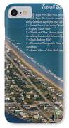Topsail Beach IPhone Case by Betsy Knapp