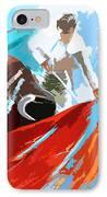 Toroscape 32 IPhone Case by Miki De Goodaboom