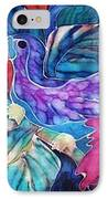 Toucan Two IPhone Case by Francine Dufour Jones